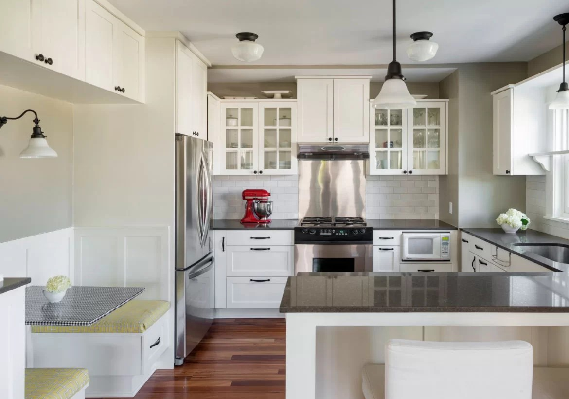 white kitchen cabinets wood counters 35 fresh ideas to brighten your space home sebring design build
