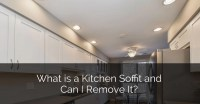 What is a Kitchen Soffit and Can I Remove It? | Home ...