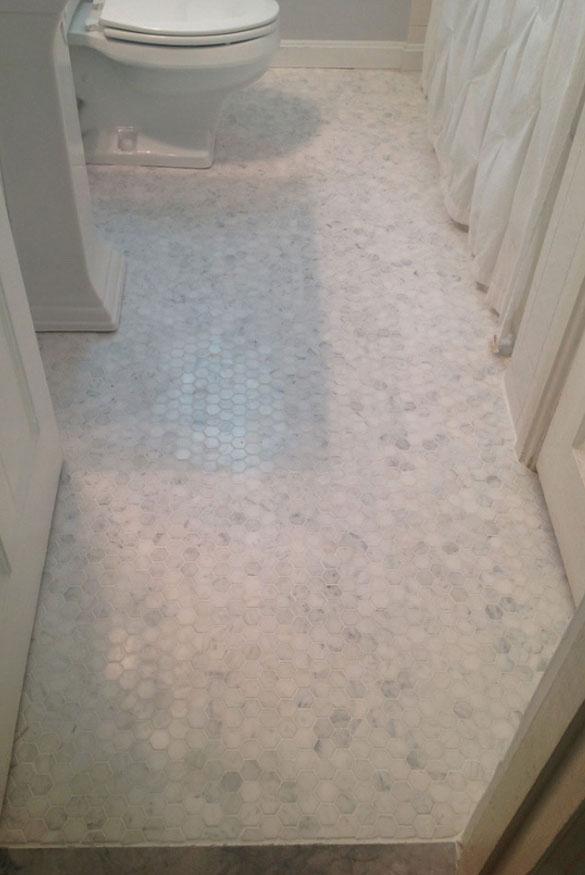 27 elegant carrara marble tile ideas