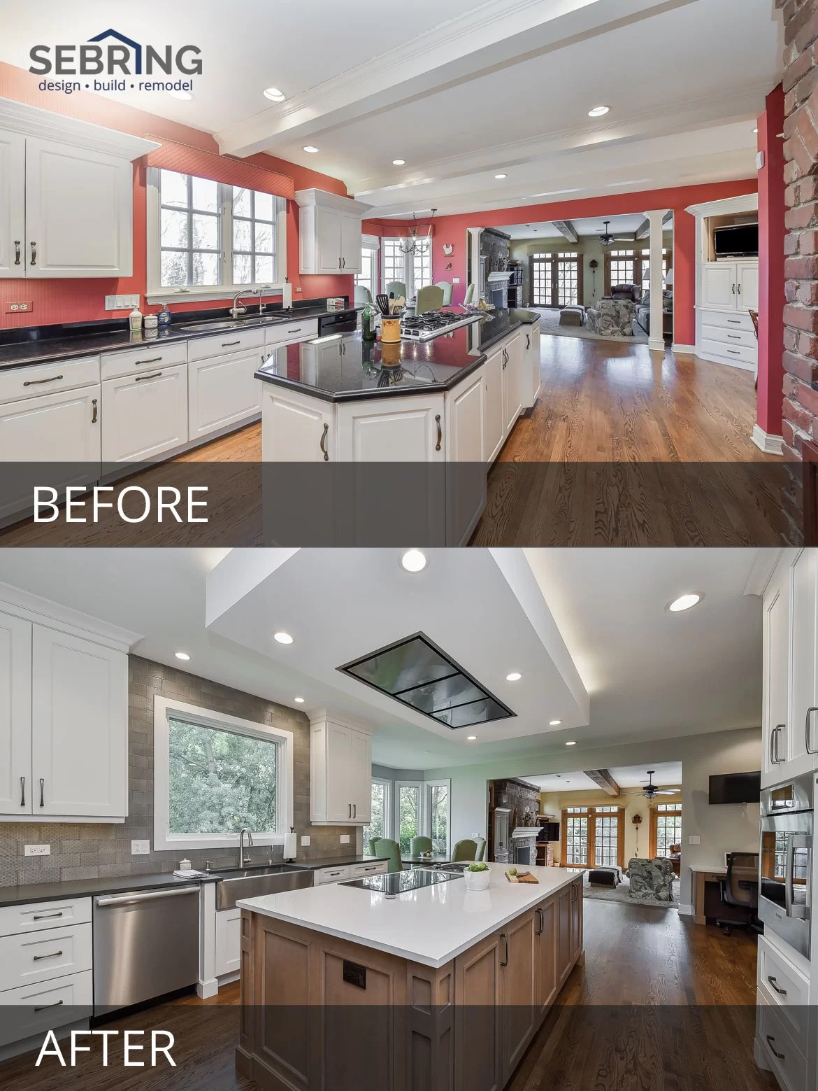 Gregg  Merrianns Kitchen Before  After Pictures  Home