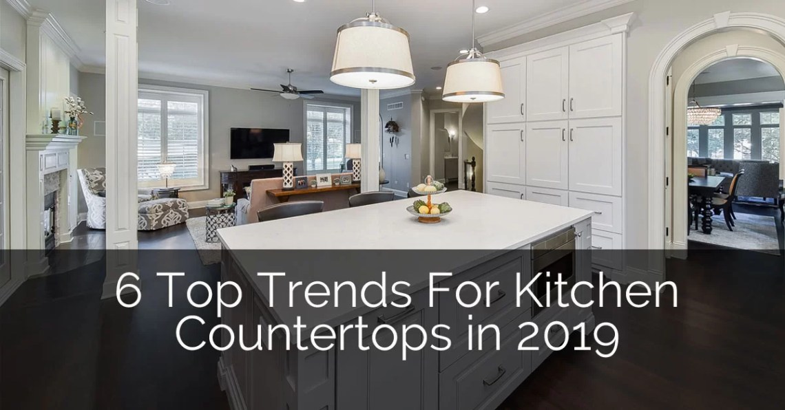Top Trends In Kitchen Countertops For