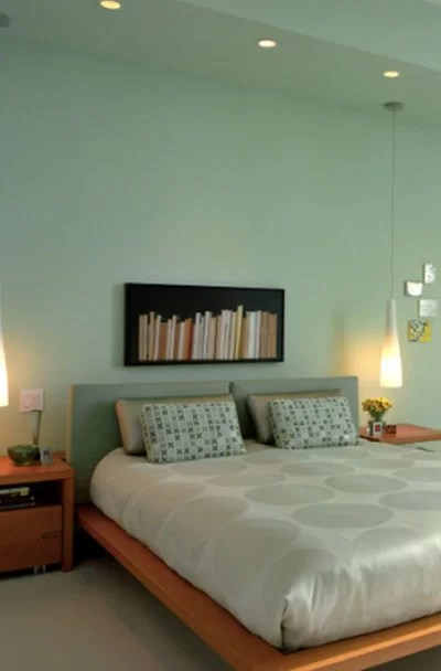 An accent wall can change the look of your bedroom. 29 Green Bedroom Decor Ideas Sebring Design Build