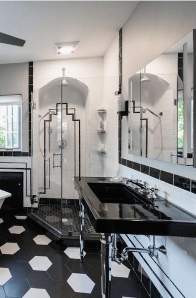 21 art deco bathroom design ideas