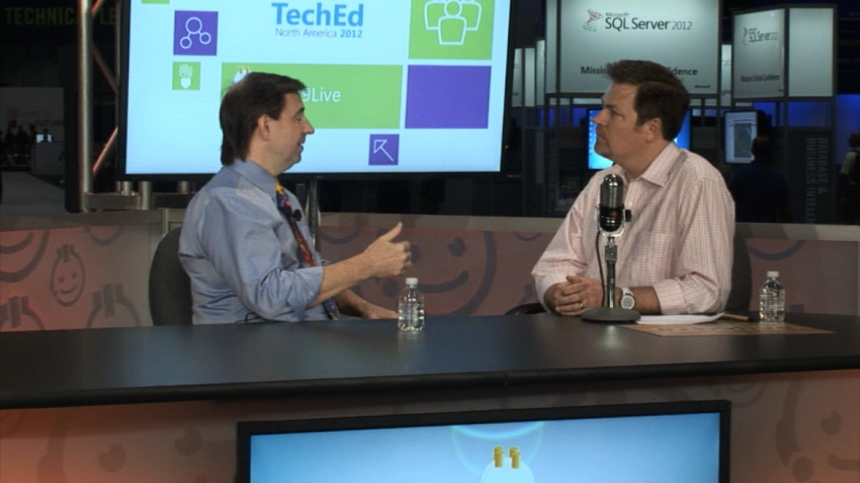 Windows Server Engineering with Jeffrey Snover  Channel 9 Live at TechEd North America 2012