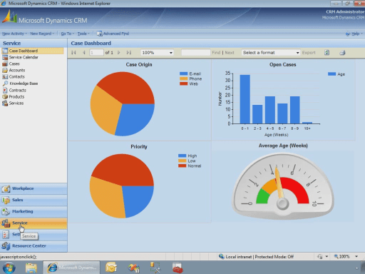 Dashboards Made Easy With Reporting Services  UKCRM