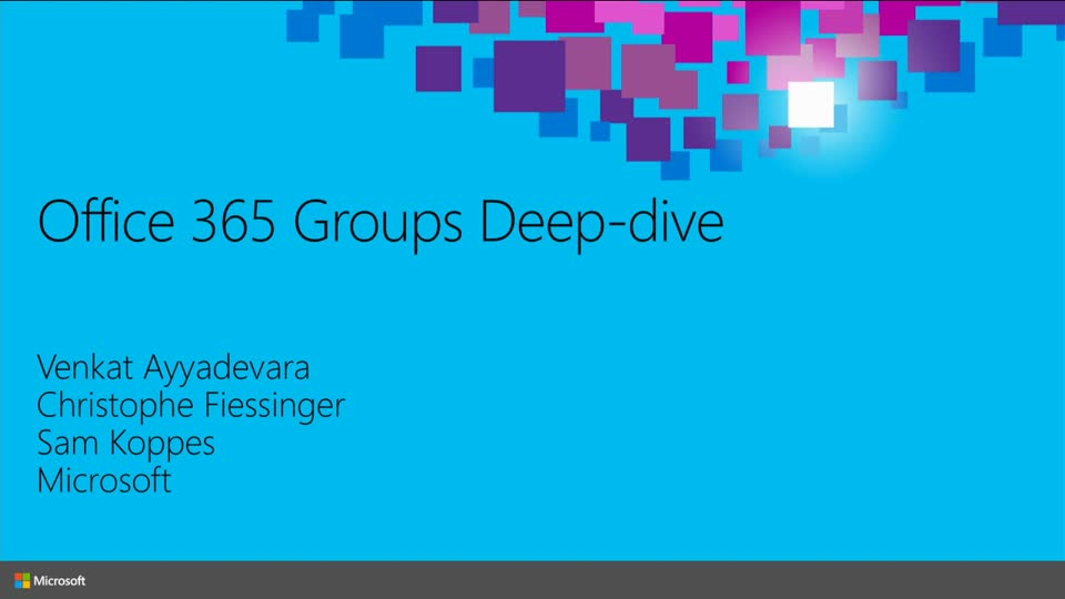 sharepoint flow diagram 1966 ford mustang horn wiring microsoft office 365 groups deep dive   ignite 2015 channel 9
