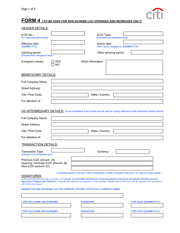 Contoh Letter Of Credit : contoh, letter, credit, Master, Reimbursement, Agreement