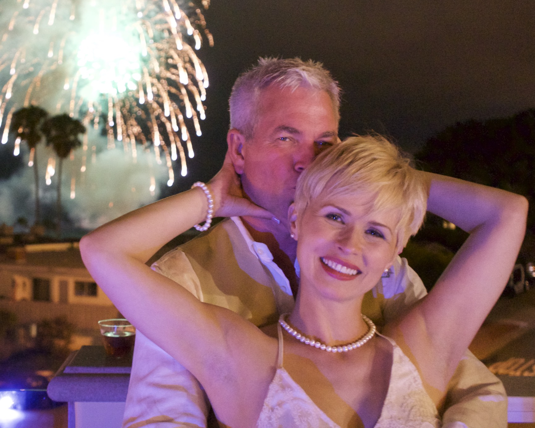 July 4th Wedding in San Clemente, Celebrities, Musians, Air Show, and fireworks…. WOW