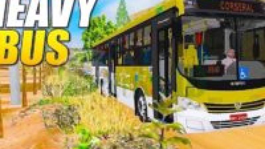 Game Simulasi Bus Android - Heavy bus simulator