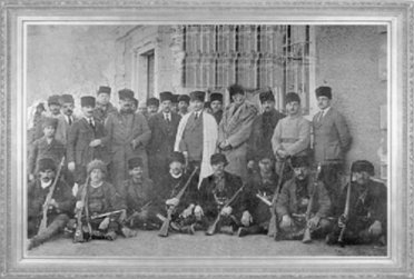 Mustafa Kemal, Ankara İstasyonu'nda (1920)