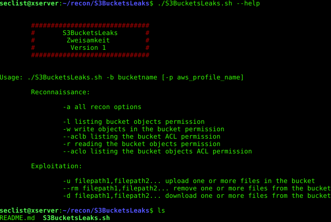 S3BucketLeaks – External audit of Amazon S3 Bucket configuration to prevent data breach (offensive side). – Security List Network™