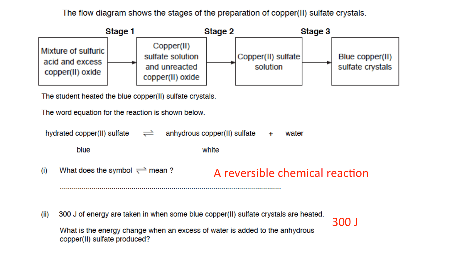 Exothermic And Endothermic Reactions Worksheet