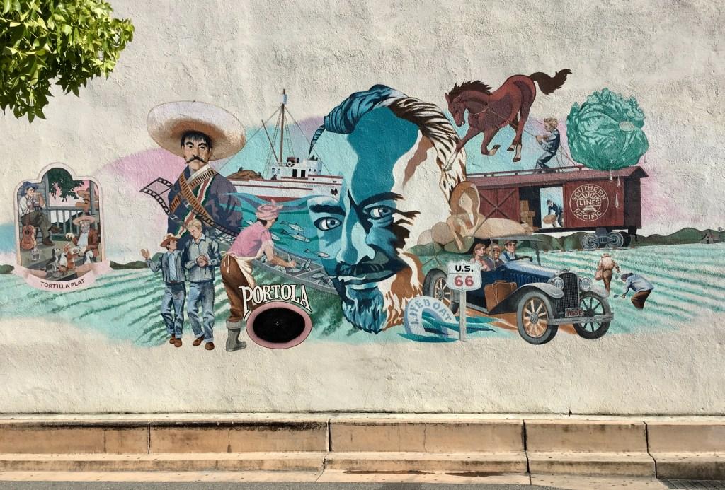 Mural Steinbeck Salinas CA
