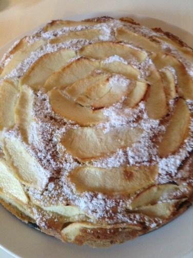 E' pronta la Torta di mele