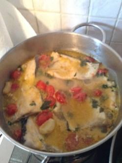 pesce spada con pomodorini