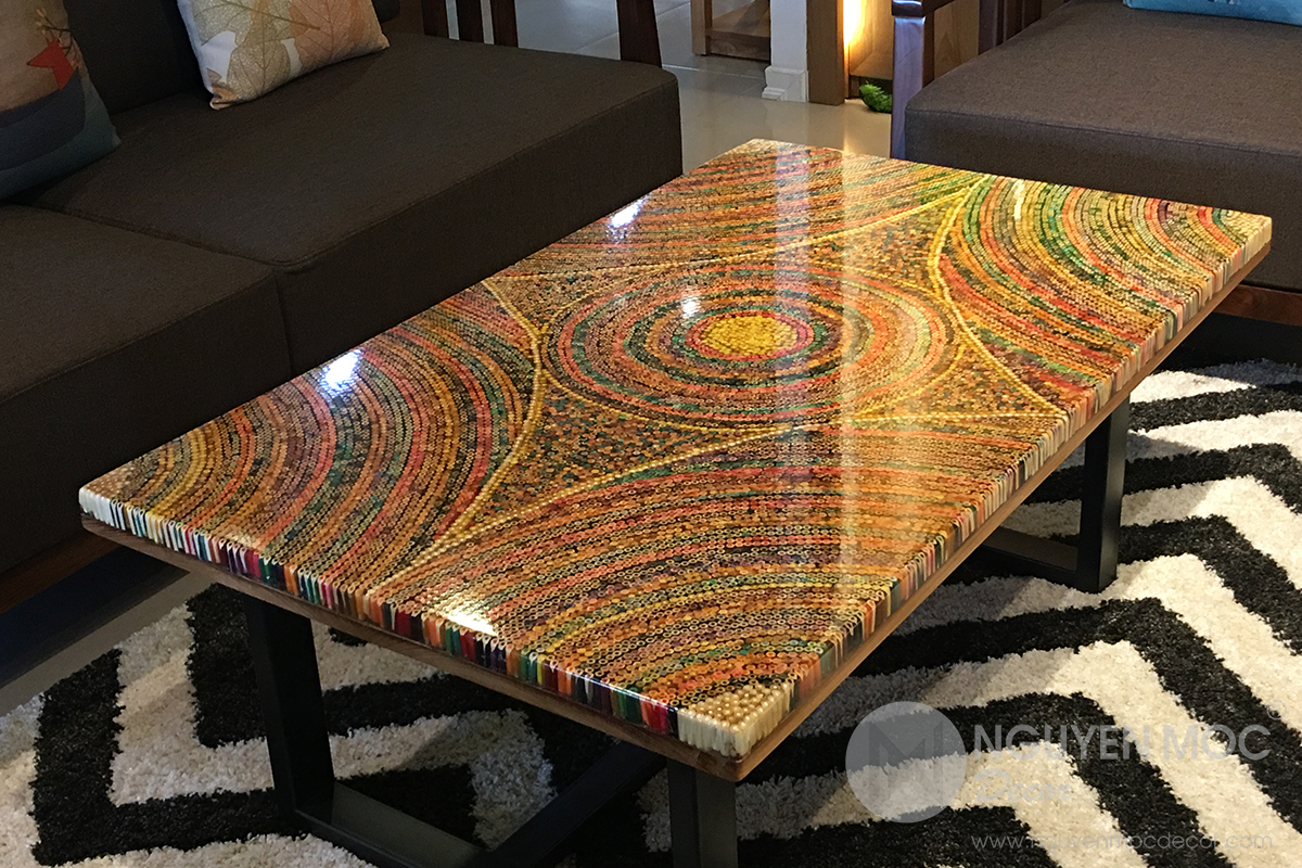 Furniture With Epoxy Resin Seconda Vita