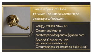Create a Spark of Hope business Card