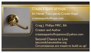Create a Spark of Hope business Card