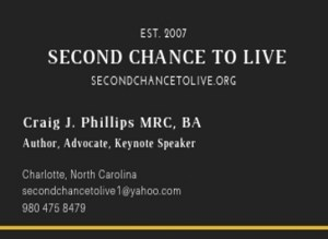 Craig J. Phillips MRC, BA Rehabilitation Counselor, Brain Injury Recovery Author, Advocate, and Keynote Speaker