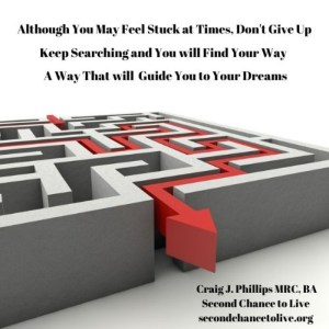 Although You May Feel Stuck at Times, Don't Give Up! Video Presentation