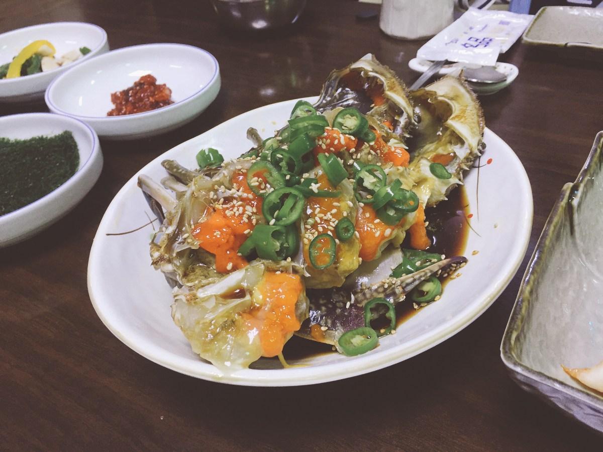 首爾|孔德站 真味食堂:Mira 介紹的米其林醬油蟹餐廳 – 我不想上班 #IDWW