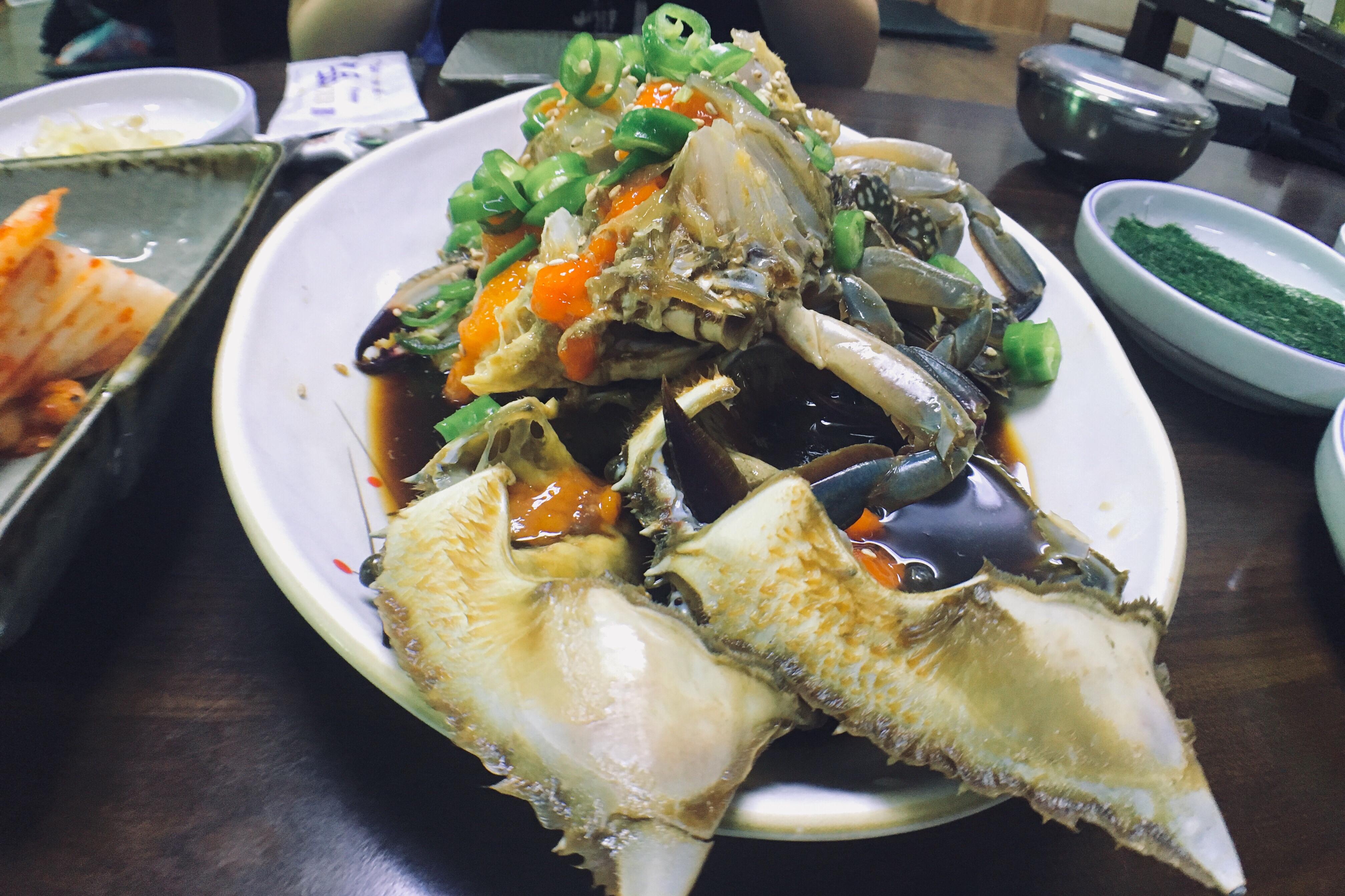 首爾 孔德站 真味食堂:Mira 介紹的米其林醬油蟹餐廳 – 我不想上班 #IDWW