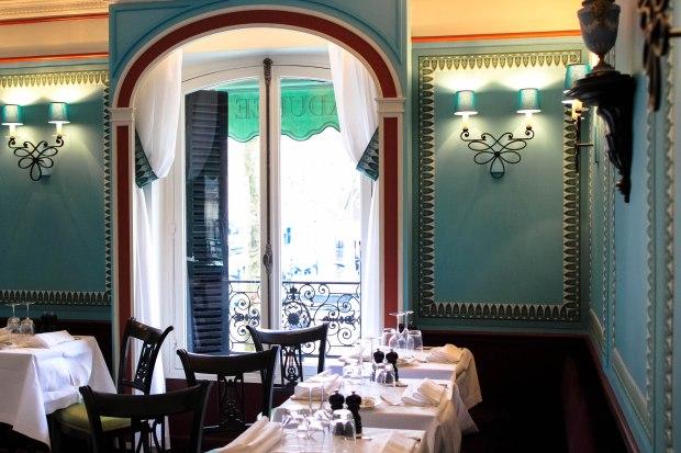 Laduree upper dining area