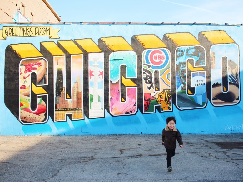 Greetings From Chicago Mural