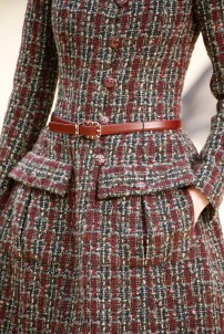 Chanel Tweed detail