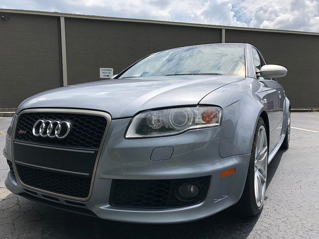 hight resolution of as they immediately recognize it as something other than a regular audi this modern classic rs 4 presents near new and is being offered for auction here