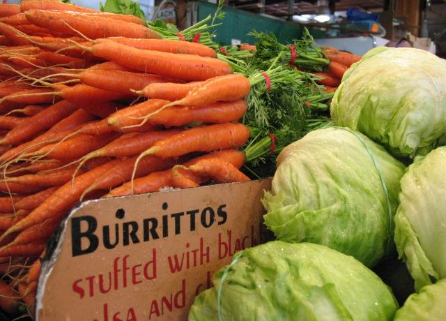 Granville Island Market - carrots