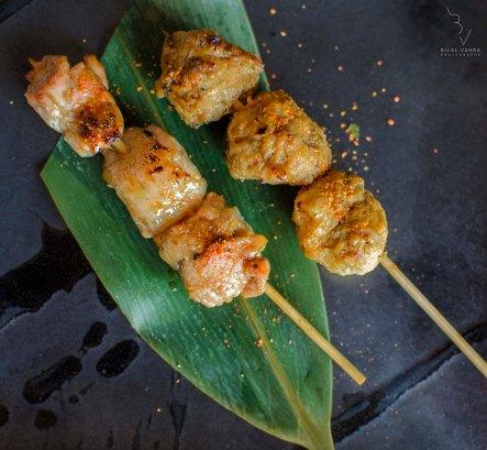 Chicken leek & Chicken ball Yakitori