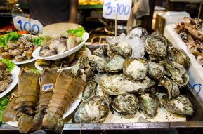 Sea-food galore from Malin Plaza