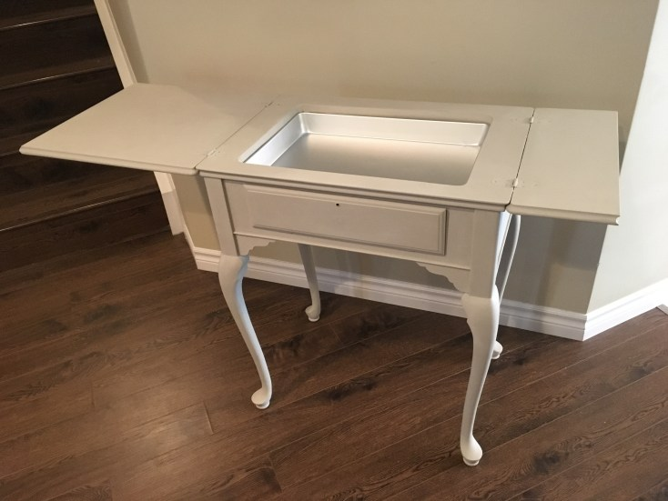 Sewing table - re-imagining and painting