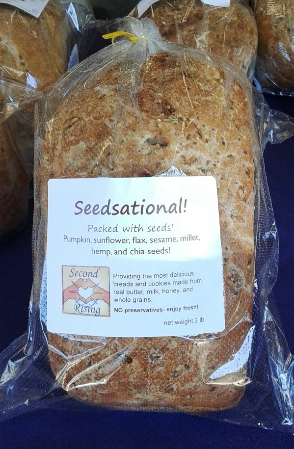 Quinoa Crack Wheat And Poppy Seeds In A Soft Bread Very Good Toasted And As A Sandwich Bread This Bread Is Named After The Beautiful Wailuku River