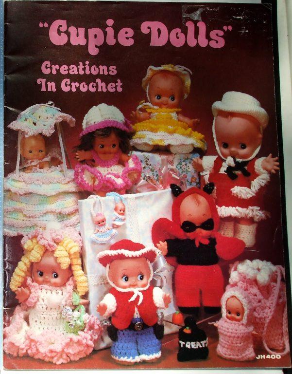 1984 VINTAGE CROCHET PATTERN BOOKLET CROCHET SWEETIES FOR DOLLS MM991