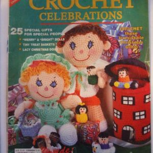 Crochet Celebrations pattern magazine 1990, 62 pages