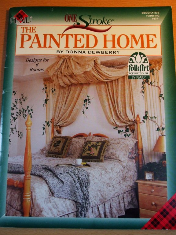 The Painted Home Donna Dewberry Plaid One Stroke 9371 Folk Art Painting patterns  Prices US
