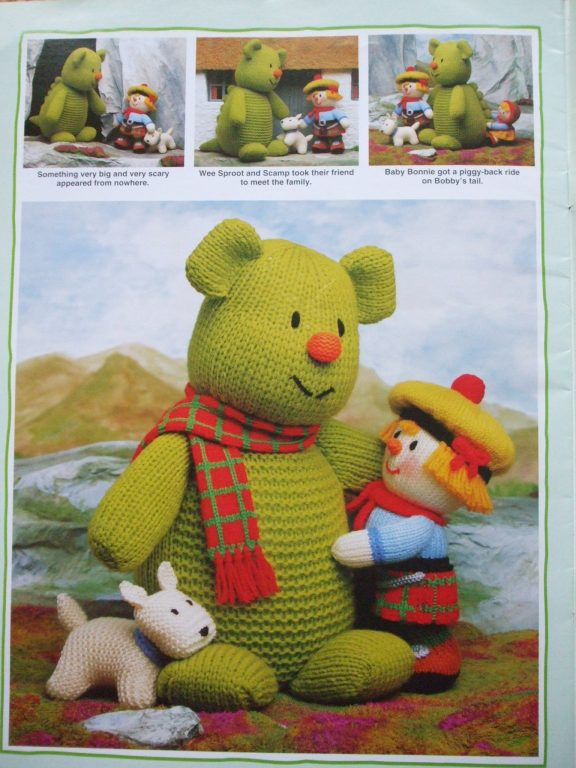 Jean Greenhowe's Knitting patterns Patons double ...