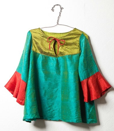 Peace Silk Tunic