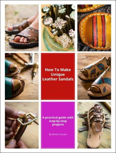 how to make leather sandals ebook