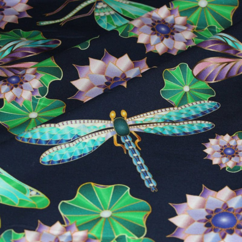 dragonfly fabric