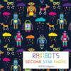 robots jersey fabric