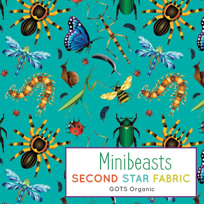 insects jersey fabric