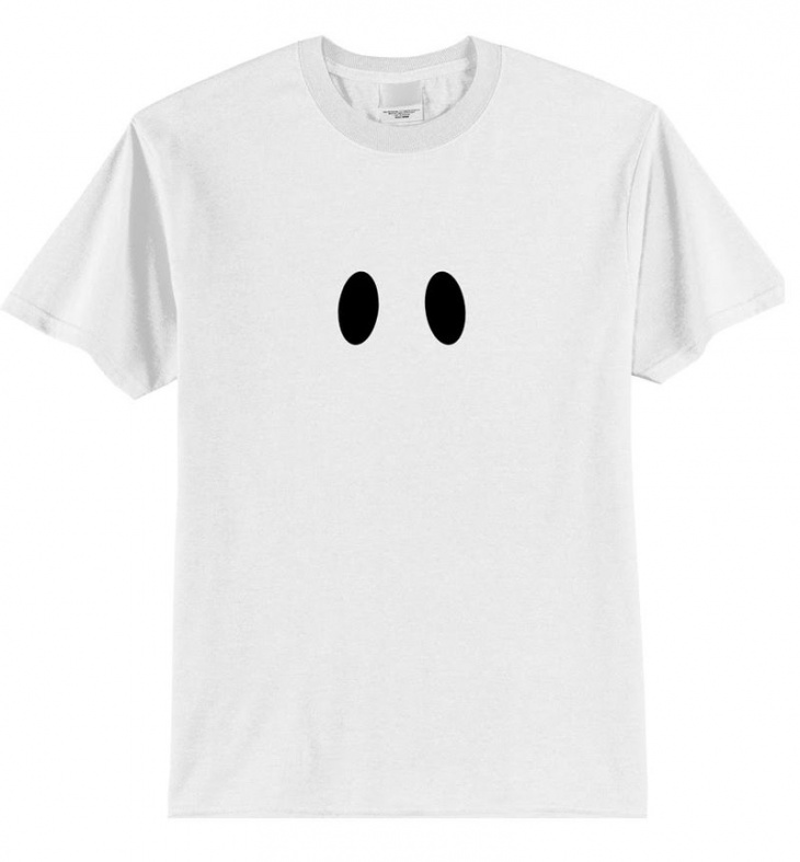 очень простой костюм на Хеллоуин.