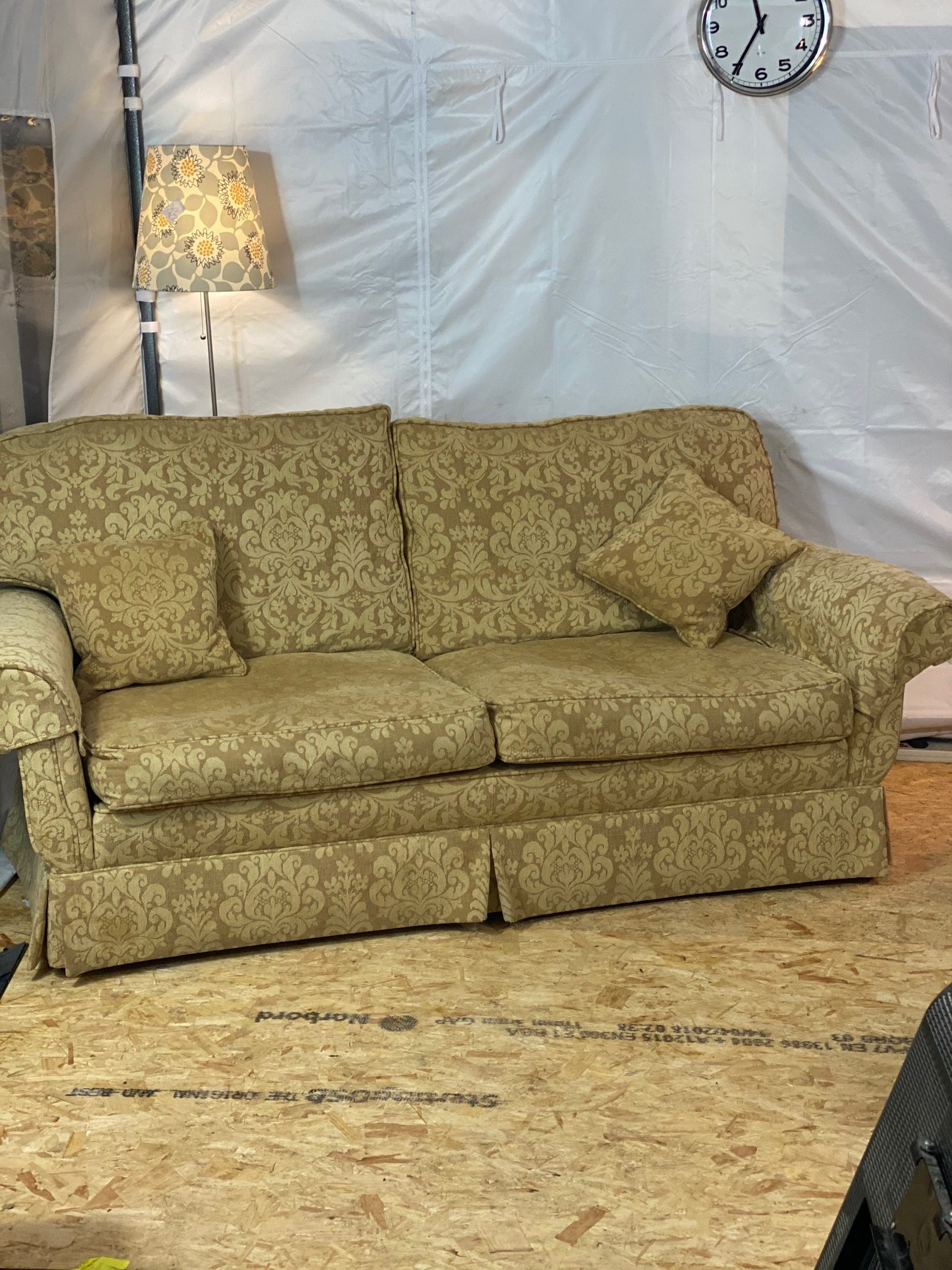 Peter Guild Two Seater Delphic Sofa Second Time Around
