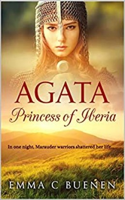 Book cover for the book Agata: Princess of Iberia.