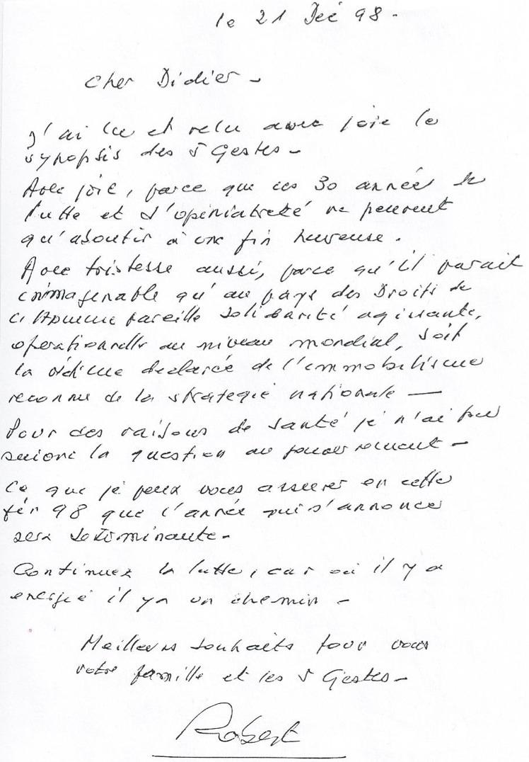 Lettre De Temoignage En Faveur De La Mere : lettre, temoignage, faveur, Lettre, Temoignage