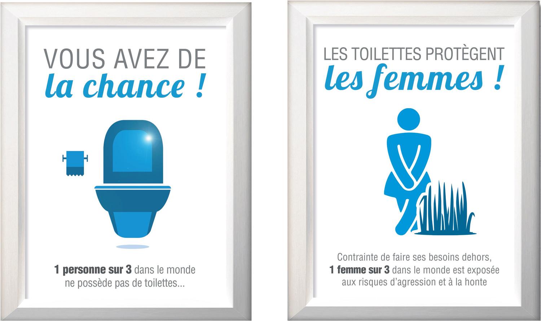 Affiche Pour Wc Propre