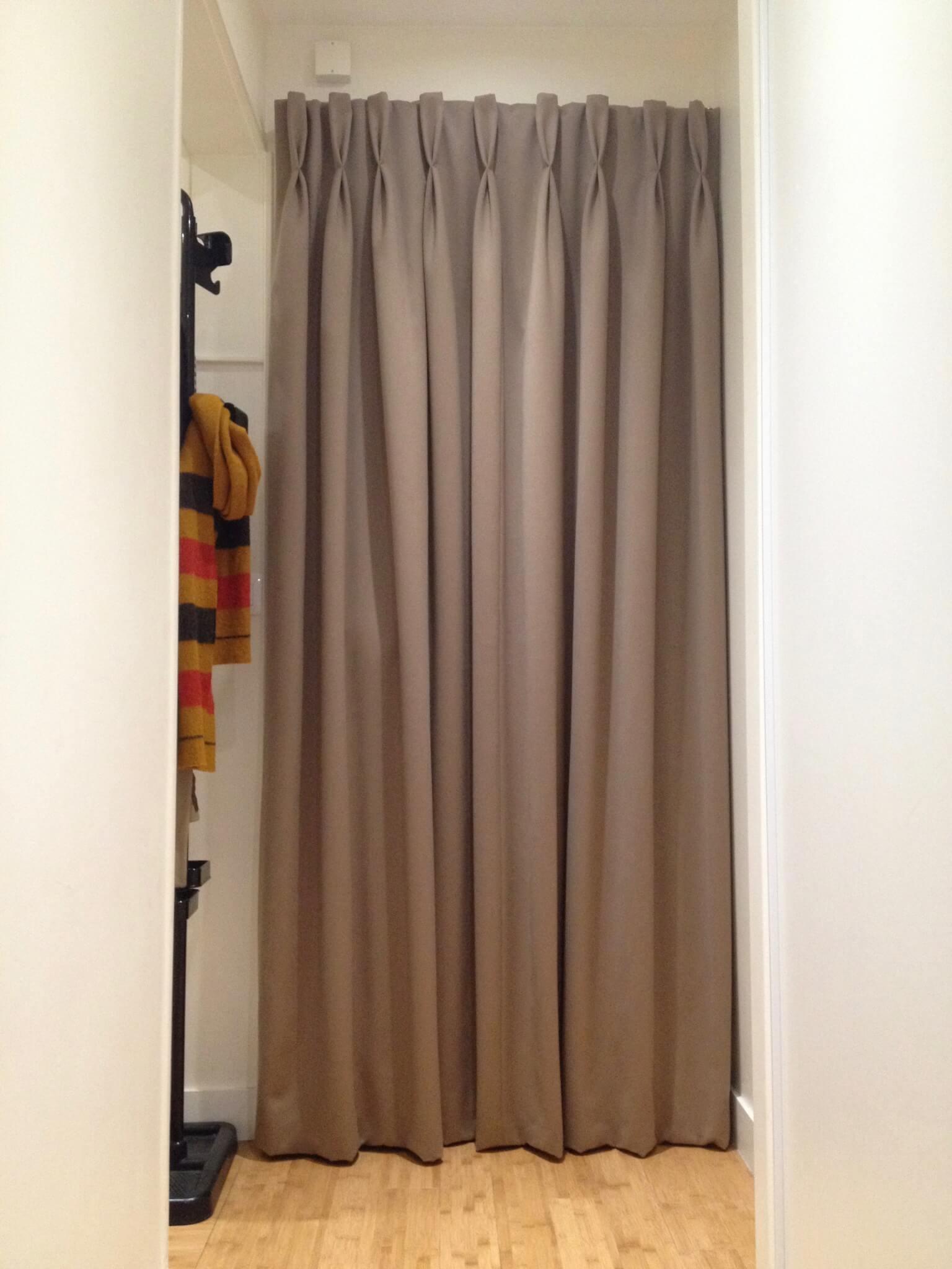 rideau de porte a tetes flamandes
